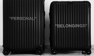 OFF-WHITE & Rimowa Unveil New Luggage Collab