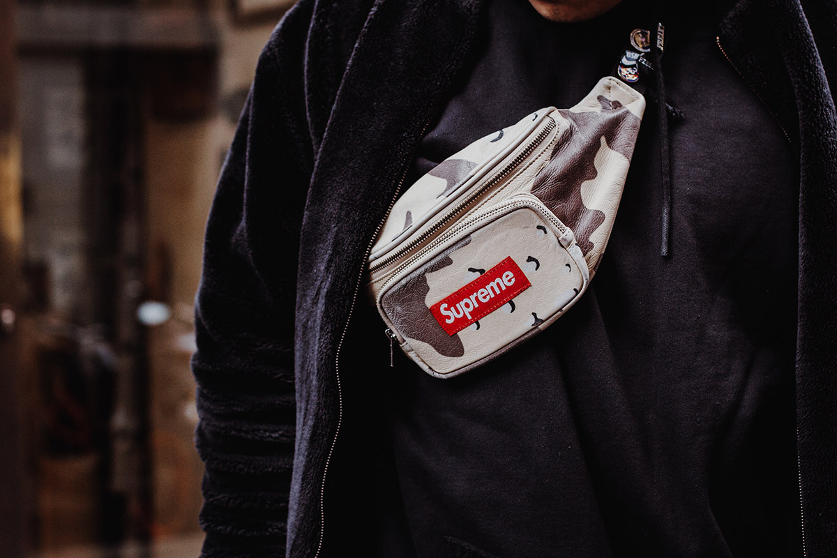Supreme cross body bag