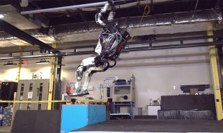 This Humanoid Robot Doing a Perfect Backflip Is Incredible & Scary AF