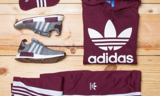 Champs & adidas Originals Link up on an Exclusive 'Maroon' Pack Just in Time for the Holidays