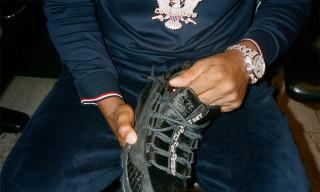 Meet Cam'ron at Reebok Union Square to Celebrate His New DMX Run 10 Sneaker