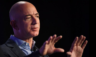 Jeff Bezos Launches a Rocket into Space as Rivalry With SpaceX Heats up