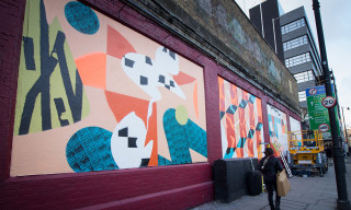 Watch This Incredible Time-Lapse of a Shoreditch Mural Painted by Four London-Based Artists