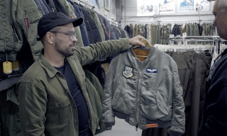 Watch Us Tour Portland's Best Army Surplus Stores in Search of Rare & Original Alpha Industries Pieces