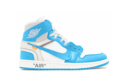 "a1041e9c7a5e The Rollout for Virgil Abloh s Nike Air Jordan 1 ""UNC"" Continues"