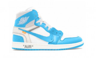 "The Rollout for Virgil Abloh's Nike Air Jordan 1 ""UNC"" Continues"