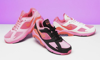 Here's Your Best Look Yet at the COMME des GARÇONS x Nike Air Max 180 Sneakers