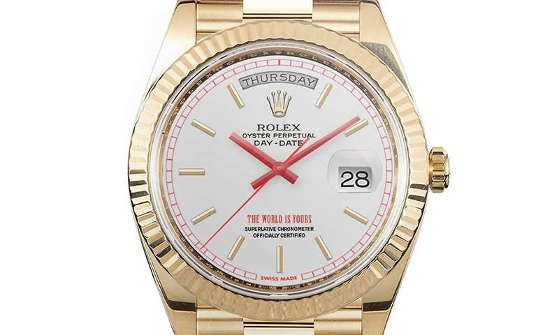 supreme x rolex: here's what the collab could look like