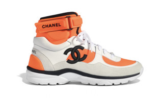 Chanel's SS18 Footwear Collection Is Popping With Color