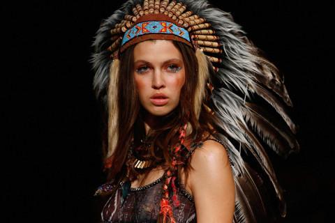 Due Beautiful native american women headdress sorry, that
