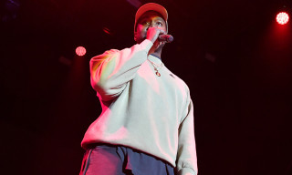 Watch Kanye West's Surprise Performance with Kid Cudi at adidas's 747 Warehouse in LA