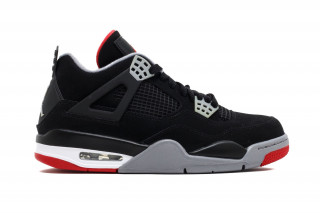"Air Jordan 4 ""Bred"" Retro With Nike Air Branding Rumored for 30th  Anniversary"