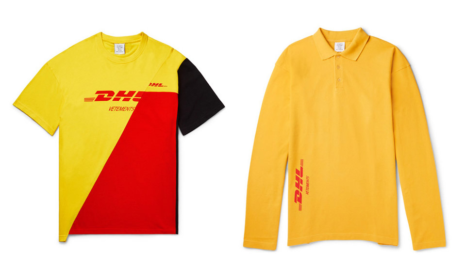 Vetements X Dhl Just Popped Up On Mr Porter