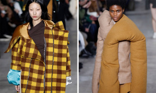 Rick Owens Reworks Flannel Shirts for His FW18 Womenwear Show