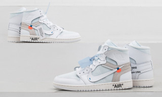 "We're Giving Away Two Pairs of the OFF-WHITE x Nike Air Jordan 1 ""All White"" With KICKZ"