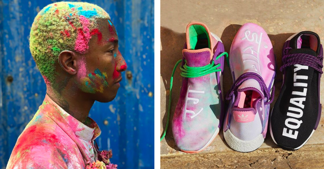 Pharrell's Holi-Inspired adidas Sneaker: Why It Skirts