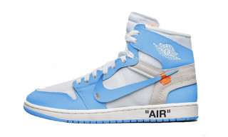 "Potential Virgil Abloh x Air Jordan 1 ""UNC"" Release Info Surfaces Online"