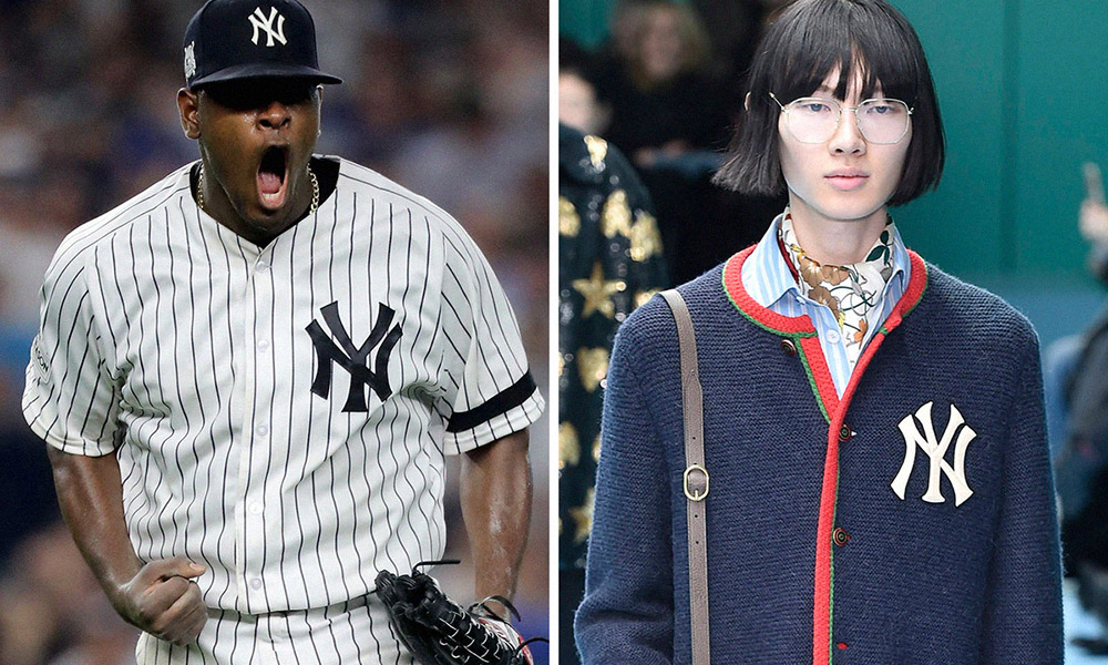 Here s How the New York Yankees Logo Became a Bona Fide Fashion Statement 88711c3037a