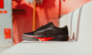 This New Vans Old Skool Is Literal Flames