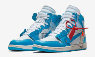 "The Virgil Abloh Air Jordan 1 ""UNC"" Is Dropping in Europe This Saturday"