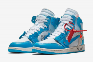 "891dabfb3b47f5 The Virgil Abloh Air Jordan 1 ""UNC"" Is Dropping in Europe This Saturday"
