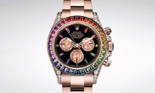 "Rolex's ""Rainbow"" Daytona Is Back in Stunning Everose Gold"