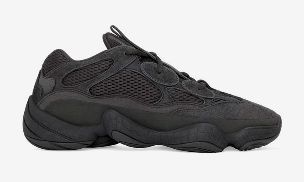 "purchase cheap e859d 35062 Sizes 9-11 US of the adidas YEEZY 500 ""Utility Black"" Re-Stocked on YEEZY  SUPPLY"