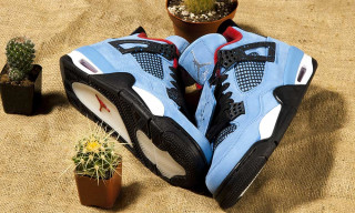 "Travis Scott's ""Cactus Jack"" Air Jordan IV Spotted at Nike Clearance Store"