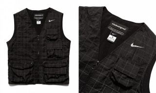 clothsurgeon Debuts 1-Of-1 3M Reflective Vest Made From Nike Running Jackets