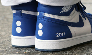 "A Closer Look at colette's 1-Of-1 Air Jordan 1 ""Au Revoir"""