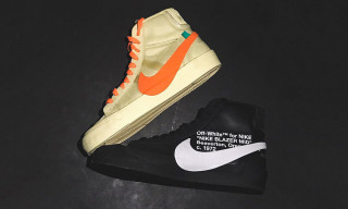 Virgil Abloh Gives Halloween-Inspired Names to His 2018 Nike Blazer Mids