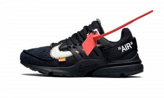 Virgil Abloh's Black Nike Air Presto Gets an Official Release Date