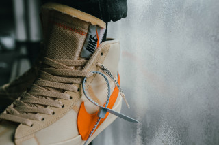 "645857af379 Slam Jam Socialism is Restocking the OFF-WHITE x Nike Blazer ""Spooky Pack"""