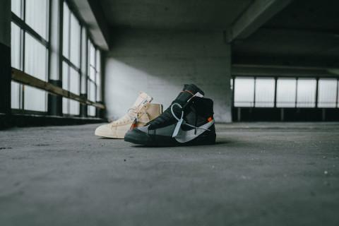 5b97d15958a Freddy Krueger Rocks OFF-WHITE x Nike Blazers In Genius Teaser From  Xhibition
