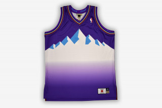 """9b0084502 Just Don Teams Up With Mitchell   Ness on """"No Name"""" NBA Jersey Collection"""