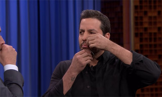 Watch David Blaine Freak out Jimmy Fallon & The Roots by Sewing His Mouth Shut