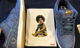 Here's Your Best Look Yet at Nike SB's Biggie & 2Pac-Inspired Sneakers