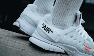 The White OFF-WHITE x Nike Air Presto Is Dropping Again Today