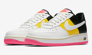 "Nike Adds Splashes of Pink & Yellow for This ""Moto"" Air Force 1"