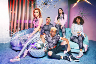 Miley Cyrus   Converse Unveil Her Debut Collection 9bb70bc5f