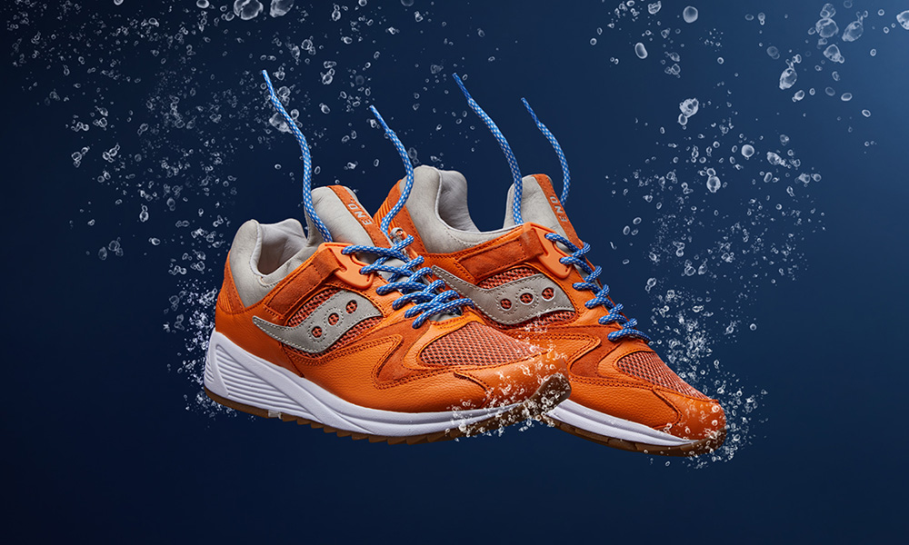 "END. x Saucony GRID 8500 ""Lobster"": Release Date, Price & More"