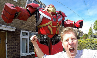 These Marvel Fans Just Made an Insane Real-Life Hulkbuster Suit