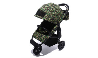 BAPE Debuts New Limited Edition Camo Baby Stroller