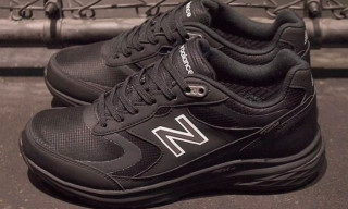 "New Balance's Brand New ""GORE-TEX"" MW880 Is Peak Stealth"