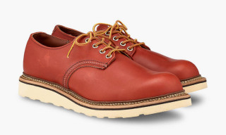 Red Wing Heritage Debuts a Modernized Work Oxford & You Can Buy It Now