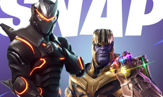 Get Your First Look at What It's Like to Play as Thanos in 'Fortnite'