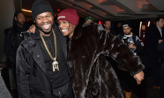 50 Cent Is Not Here for A$AP Rocky's Custom Gucci Bag