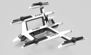 First Look at Uber's Flying Car Prototype