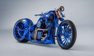 Bucherer's $1.79 Million Harley-Davidson Blue Edition Is the World's Most Expensive Motorcycle