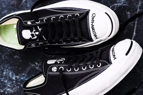 e2c832bd38dc mastermind JAPAN   Converse Just Revealed the Perfect Summer Sneakers.  Brand  mastermind JAPAN x Converse Addict. Model  Jack Purcell Canvas